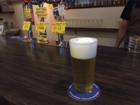 ミントビールの写真