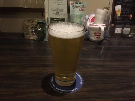 ゆずのビール写真
