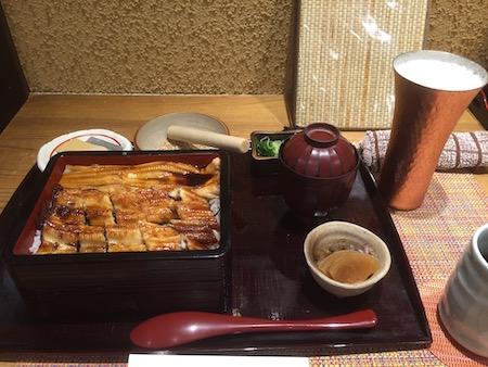 アナゴ料理の写真