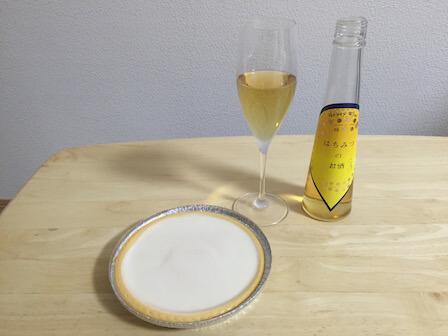 国産の蜂蜜酒(ミード)の写真