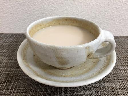 ダージリンのミルクティー写真