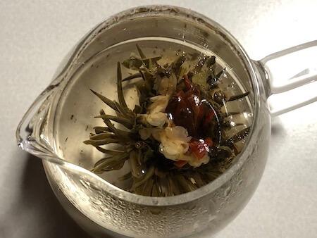 工芸茶 百合花藍(ユリカラン)の写真3
