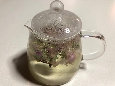 バラの花のお茶写真3