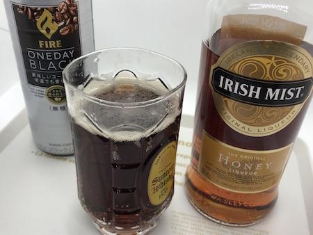 アイリッシュミストのコーヒー炭酸割り写真
