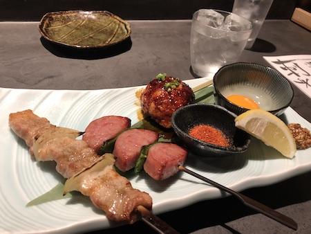 博多の居酒屋(串焼き)写真