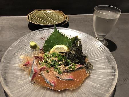 博多の居酒屋(サバ)写真