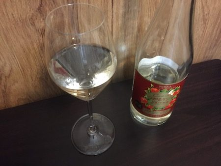 リーデルのスパークリングワイングラスの写真