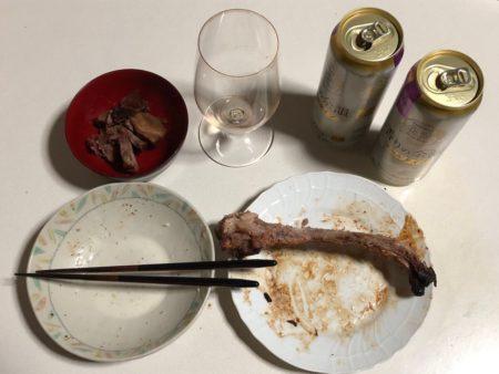 20210321-『鹿児島黒豚スペアリブ炭火焼』の写真14