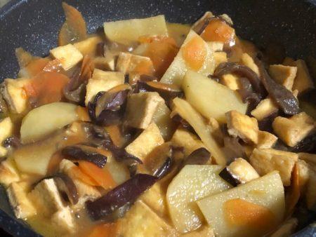キクラゲ入り野菜炒め2