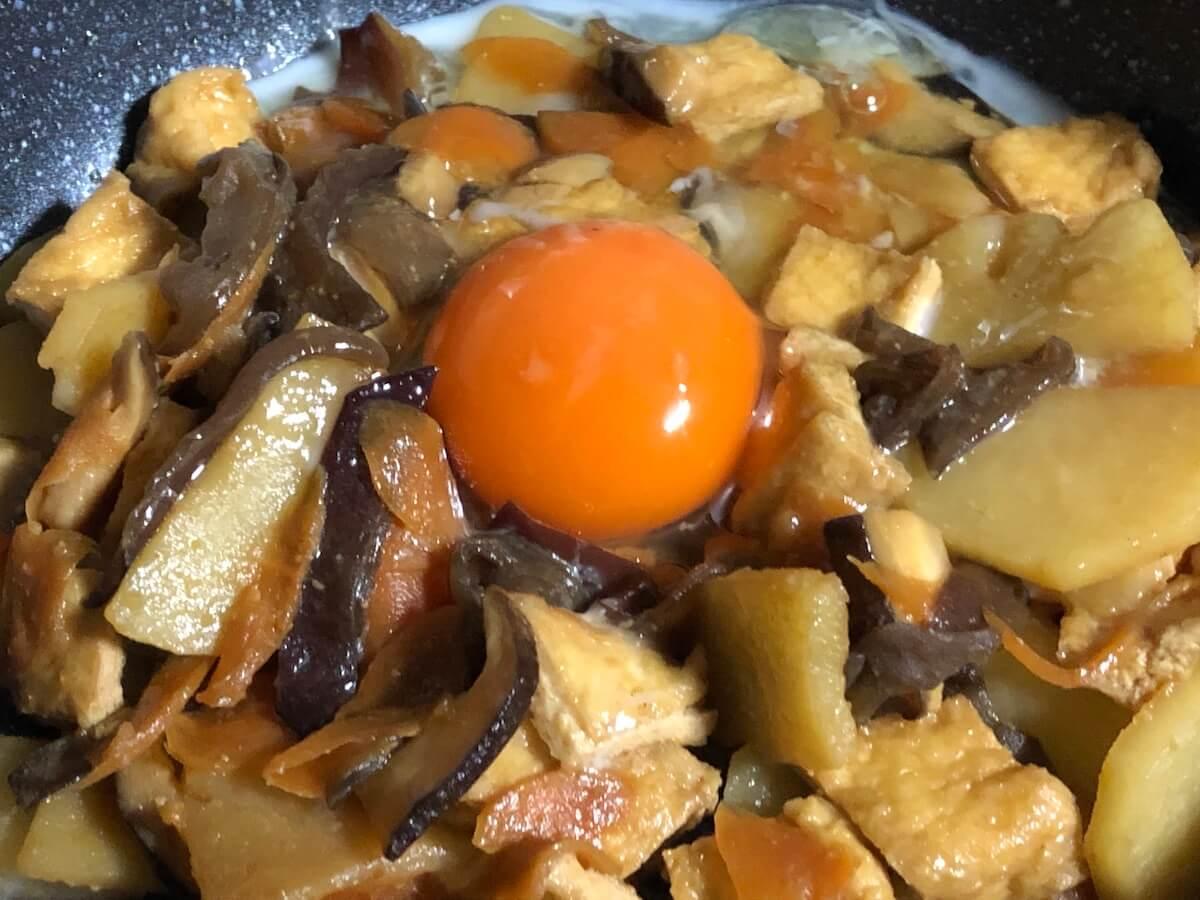キクラゲ入り野菜炒め4