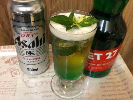jet27のビール割(ミントビア)写真